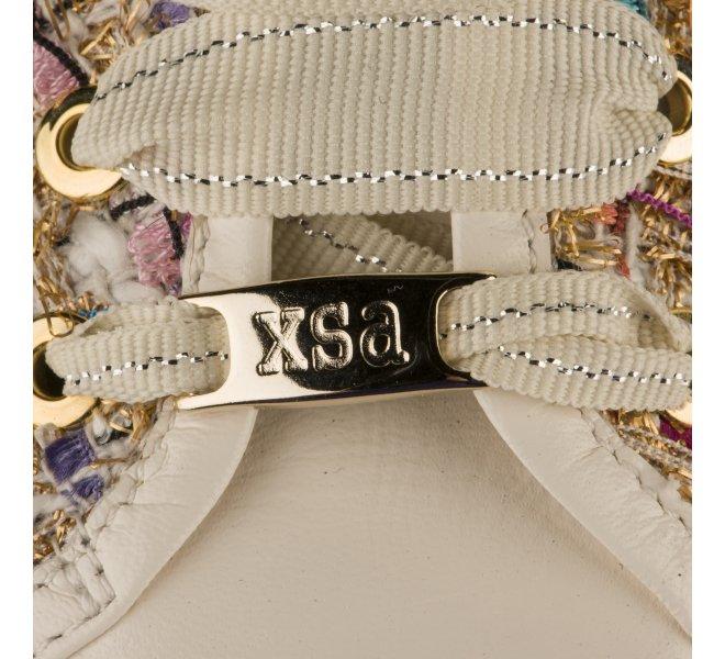 Baskets mode fille - XSA - Ecru