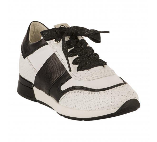 Baskets mode fille - DLS SPORT - Blanc