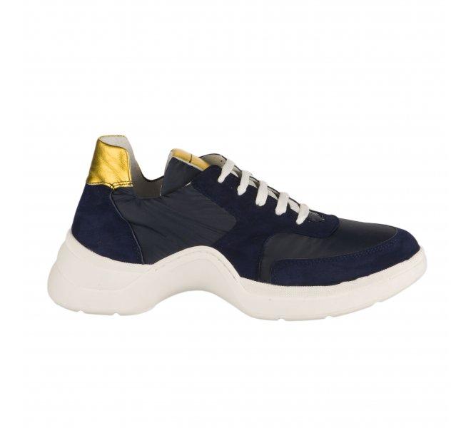 Baskets mode fille - MIGLIO - Bleu marine