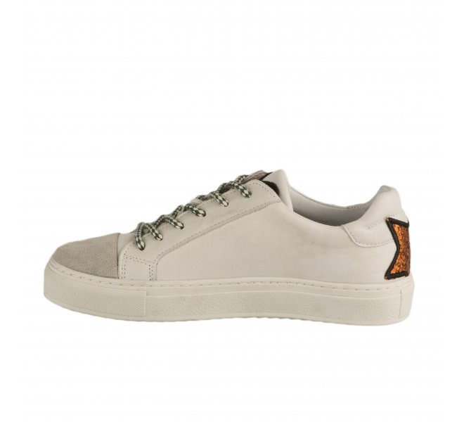 Baskets mode fille - MIGLIO - Blanc