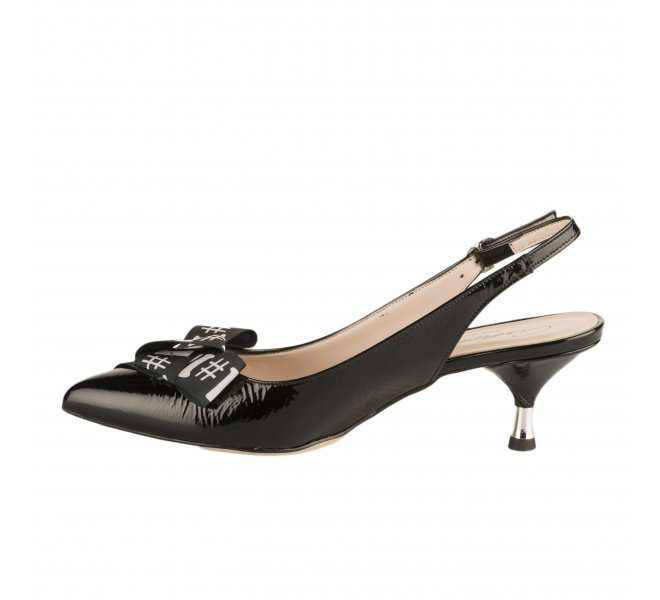 Escarpins fille - MIGLIO - Noir verni