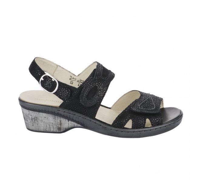 Chaussures de confort fille - WALDLAUFER - Noir
