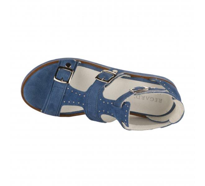 Nu pieds fille - REGARD - Bleu