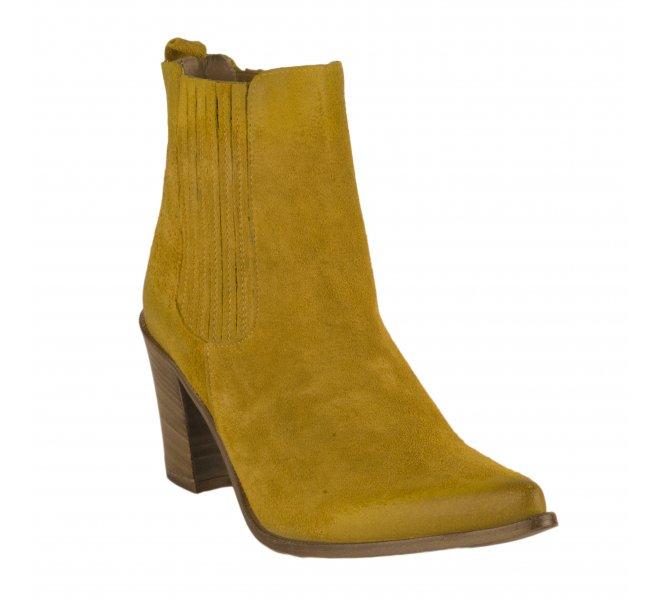Boots fille - MIGLIO - Jaune