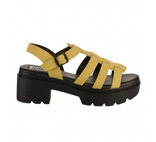 Nu pieds fille - MTNG - Jaune