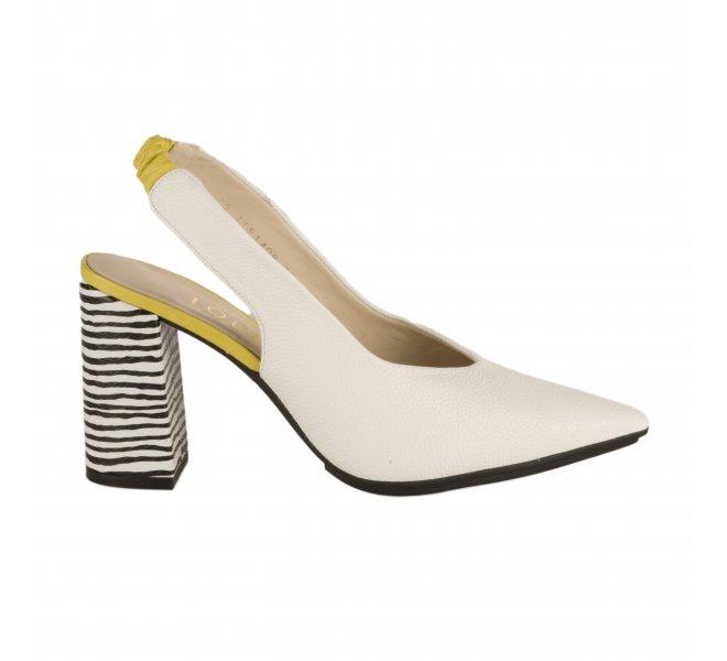 Escarpins fille - LODI - Blanc