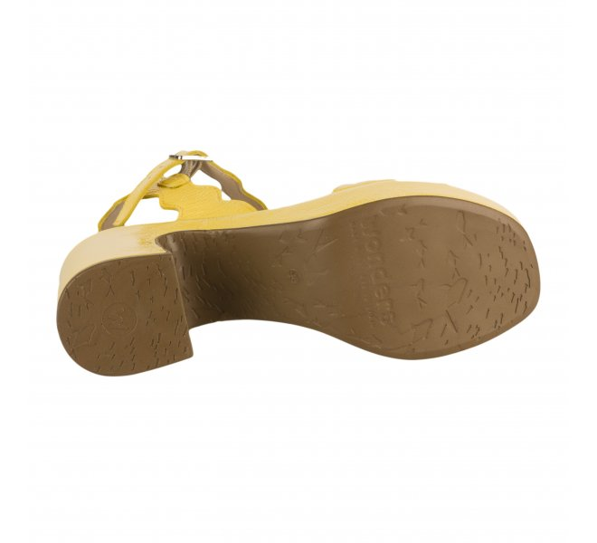 Nu pieds fille - WONDERS - Jaune