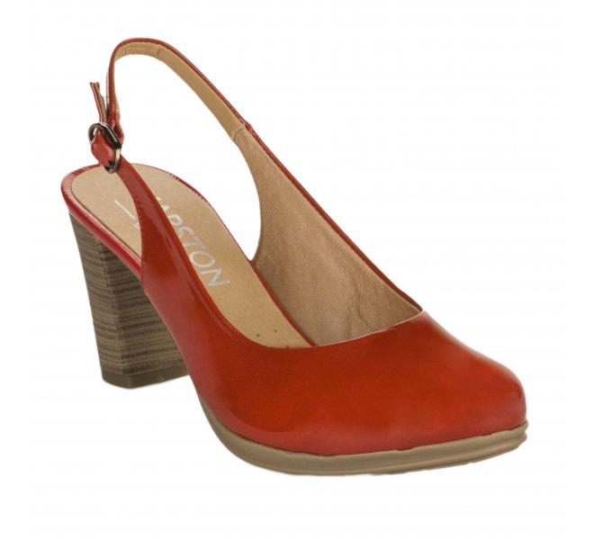 Escarpins fille - KARSTON - Rouge vernis