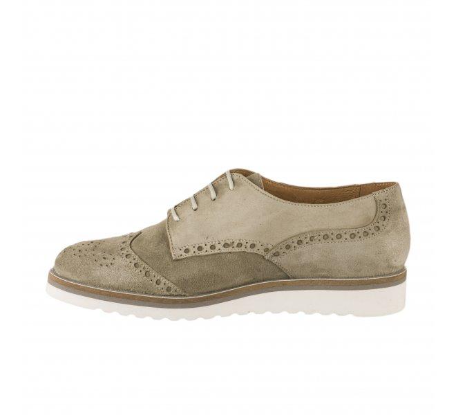 Chaussures à lacets fille - MYMA - Kaki