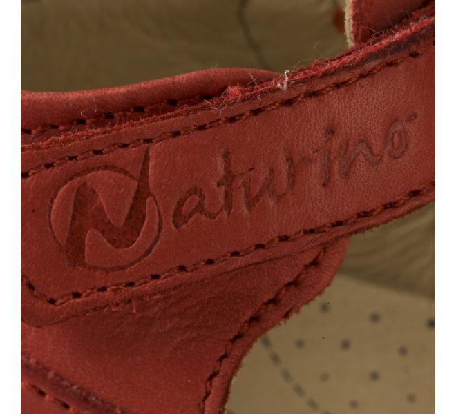 Bottines été garçon - NATURINO - Rouge
