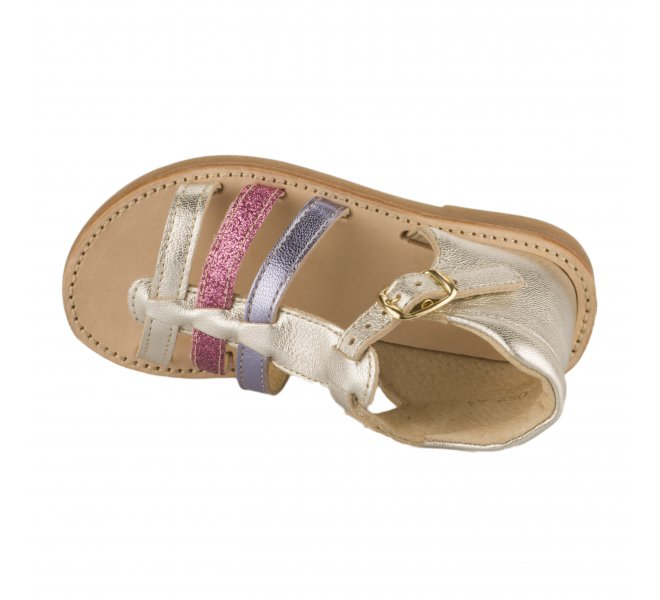 Nu-pieds fille - CHAUSSMOME - Multicolore