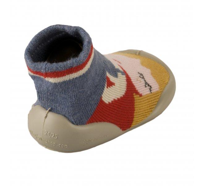 Pantoufles fille - COLLéGIEN - Multicolore