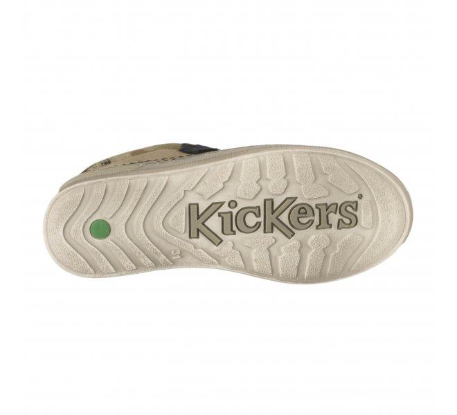 Baskets garçon - KICKERS - Kaki