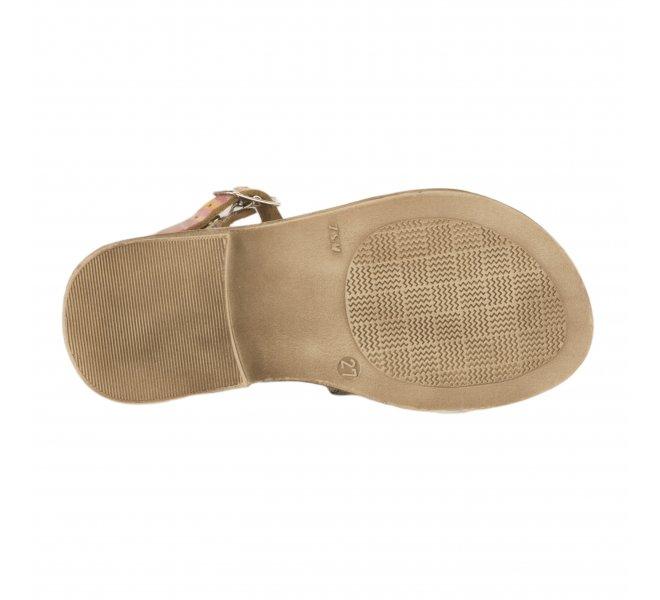 Nu-pieds fille - GBB - Jaune