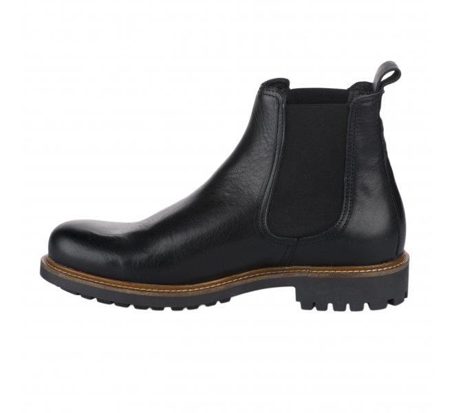 Boots garçon - FREEMAN - Noir