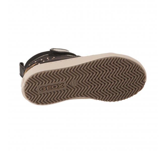 Baskets fille - GEOX - Noir verni