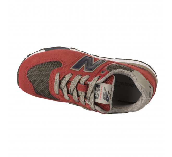 Baskets mixte - NEW BALANCE - Rouge bordeaux