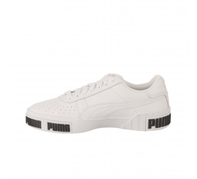 chaussure puma enfant fille blanche