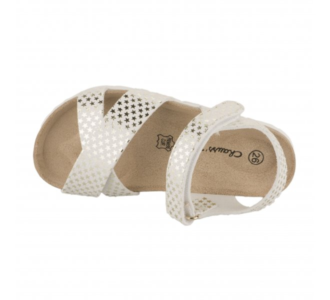 Nu-pieds fille - CHAUSSMOME - Blanc