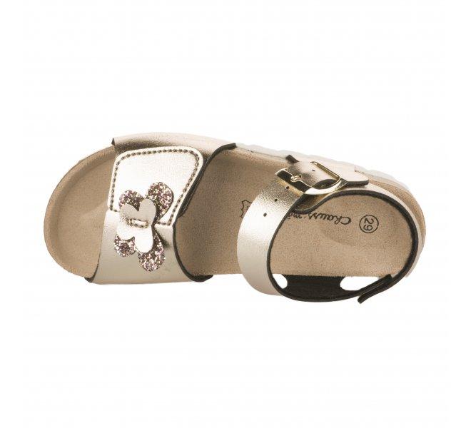 Nu-pieds fille - CHAUSSMOME - Bronze