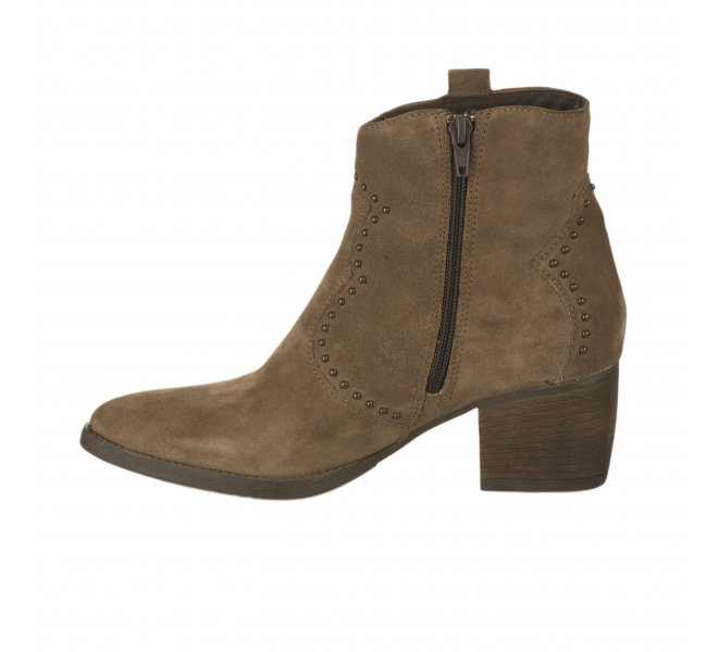 Boots fille - MIGLIO - Taupe