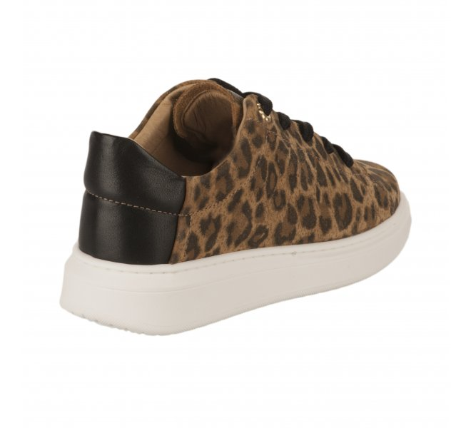 Baskets fille - FéTéLACé - Leopard