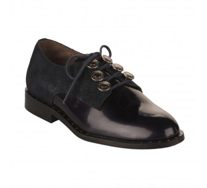 Chaussures a lacets fille - FéTéLACé - Bleu marine