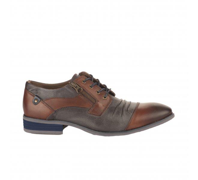 Chaussures à lacets garçon - KDOPA - Marron fonce