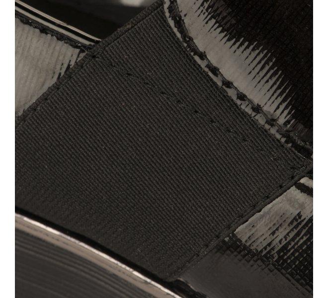 Mocassins fille - MIGLIO - Noir verni