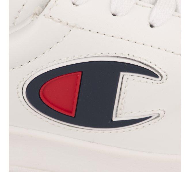 Baskets garçon - CHAMPION - Blanc