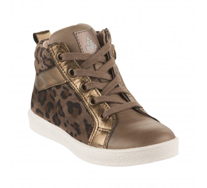 Bottines fille - ACEBOS - Taupe