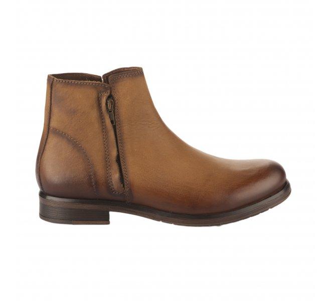 Boots garçon - FIRST COLLECTIVE - Naturel