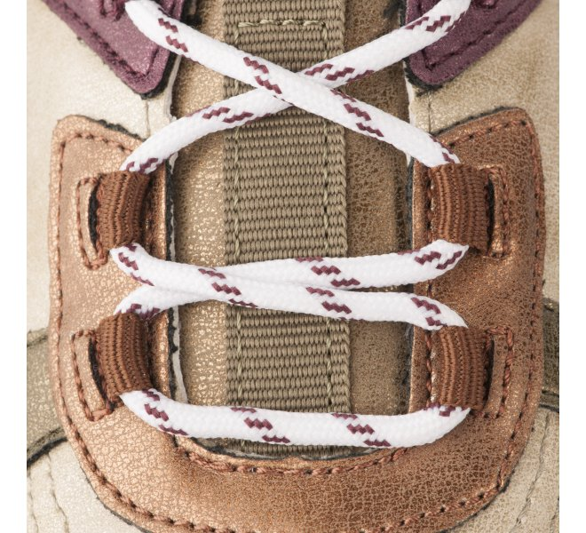 Baskets fille - VICTORIA - Bronze