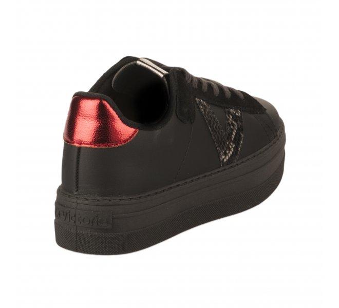 Baskets fille - VICTORIA - Noir
