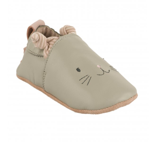 Chaussons fille - MOULIN ROTY - Gris