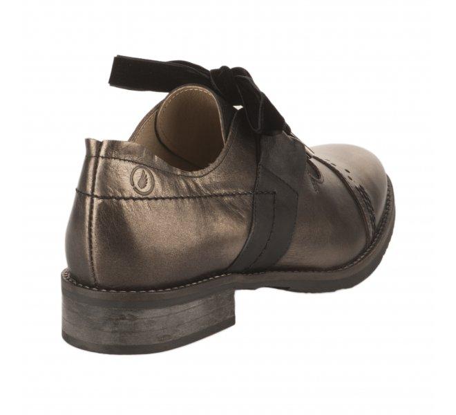 Chaussures à lacets fille - CASTA  - Bronze