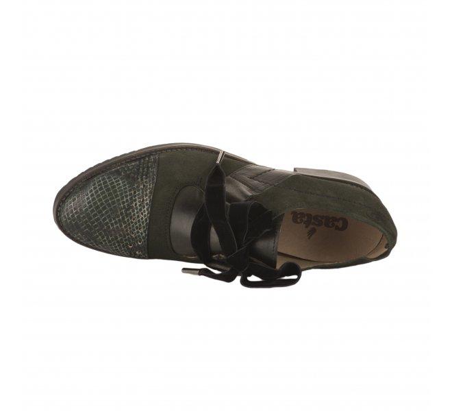 Chaussures à lacets fille - CASTA  - Vert fonce