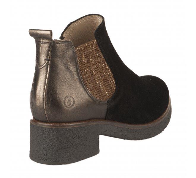 Boots fille - CASTA  - Noir
