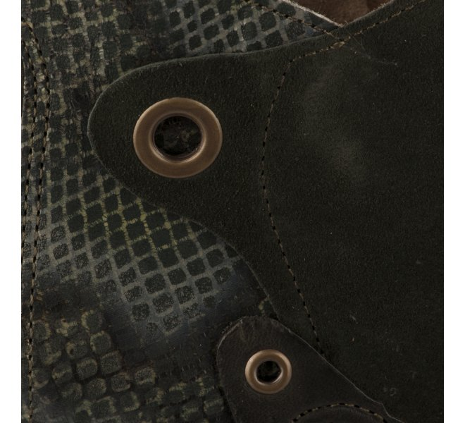 Boots fille - CASTA  - Vert fonce