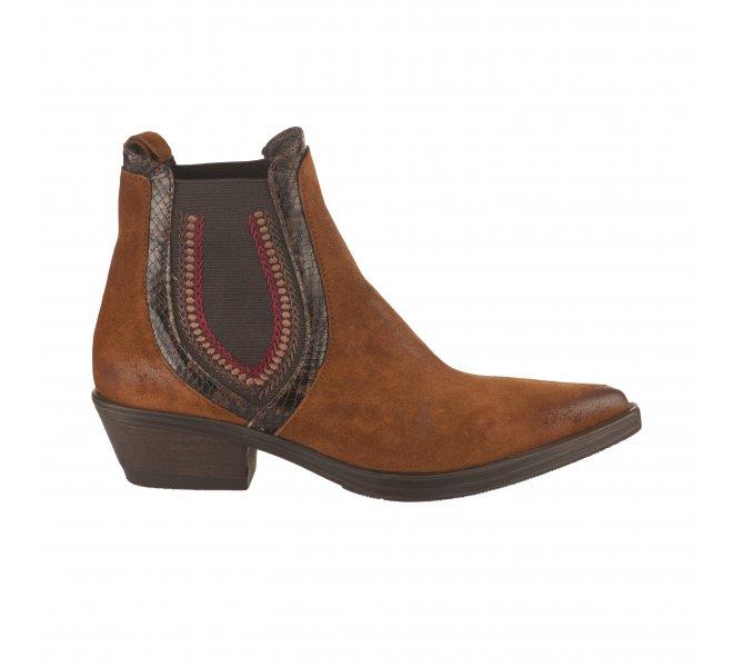 Boots fille - MIGLIO - Naturel