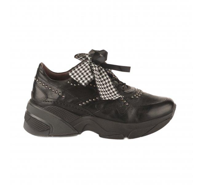 Baskets mode fille - MJUS - Noir