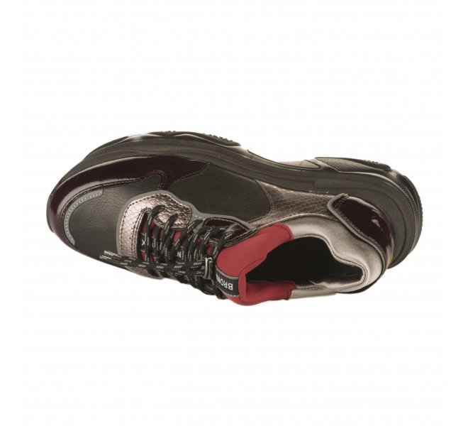 Baskets mode fille - BRONX - Noir
