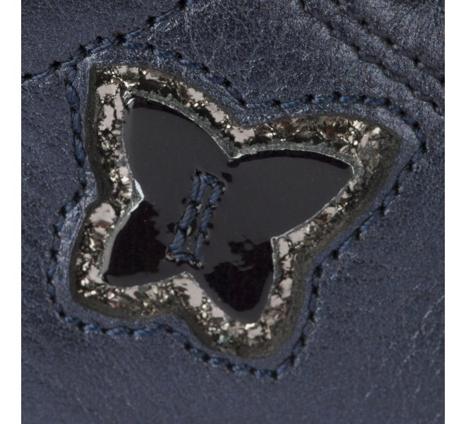 Bottines fille - BOPY - Bleu marine
