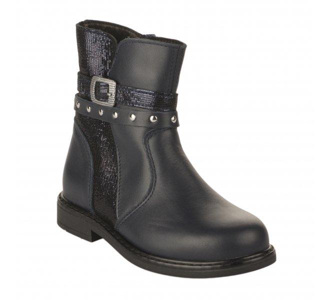 Boots fille - BOPY - Bleu marine
