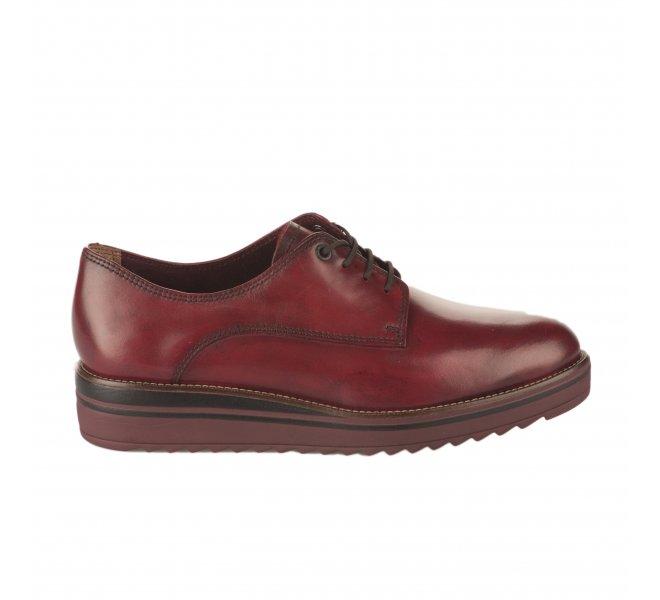 Chaussures à lacets fille - TAMARIS - Rouge