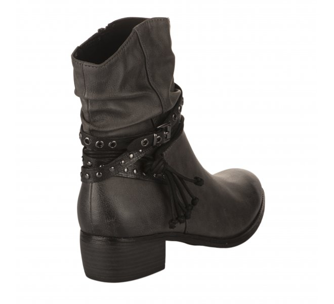 Boots fille - MARCO TOZZI - Gris anthracite