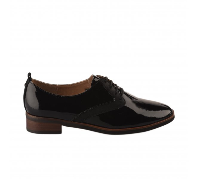 Chaussures à lacets fille - EMILIE KARSTON - Noir