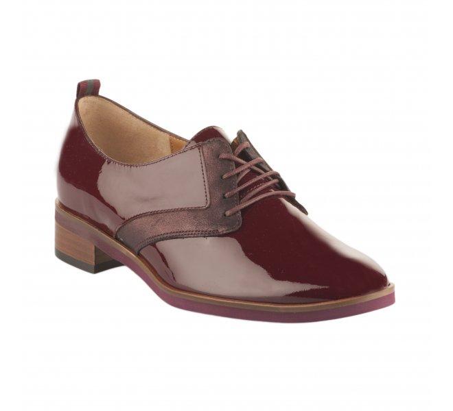 Chaussures à lacets fille - EMILIE KARSTON - Rouge bordeaux