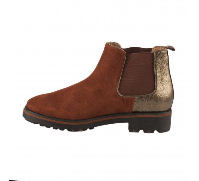 Boots fille - EMILIE KARSTON - Rouille