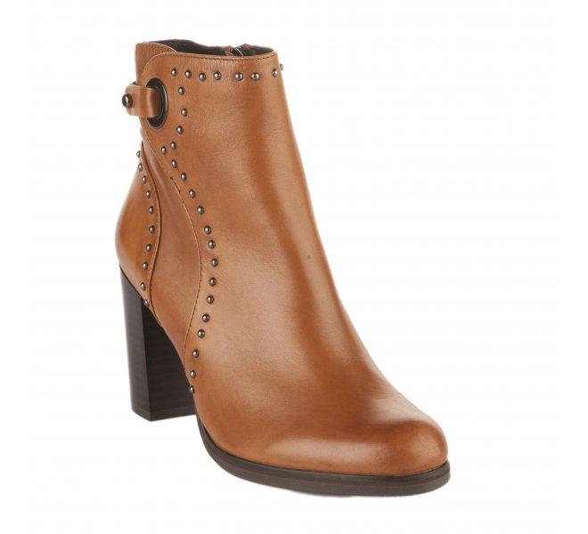 Boots fille - REGARDE LE CIEL - Naturel